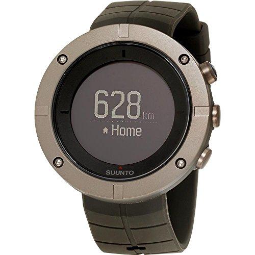 Suunto Montre-Bracelet numérique à Quartz pour Homme - Bracelet en Caoutchouc - SS021239000