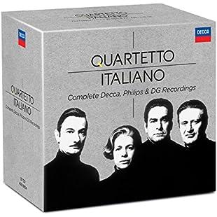 Quartetto Italiano Complete Decca,Philips & DG Recordings