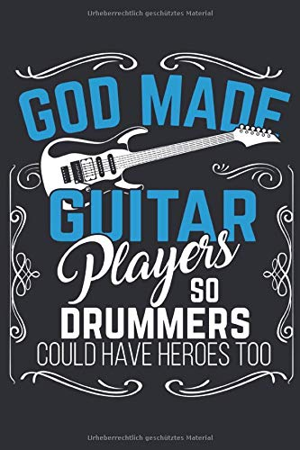 Gitarre Notizbuch: Ein perfektes Geschenk für alle Gitarren Spieler