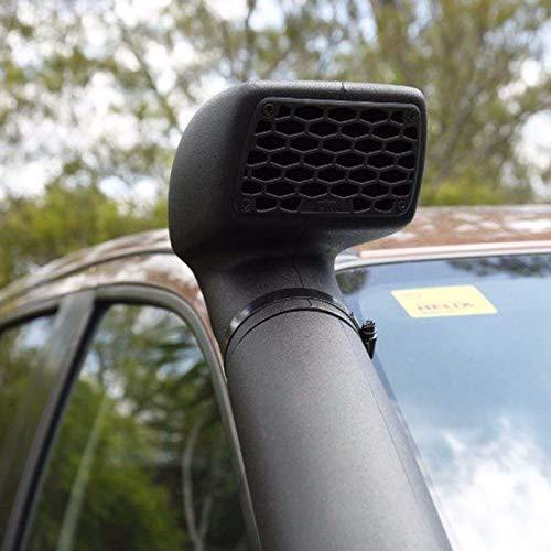 JHCHAN Universal Off Road Snorkel Head Air Ram Head 3.0 ''para Ford Ranger Wildtrak 4X4 Accesorios 4WD aire flujo de entrada