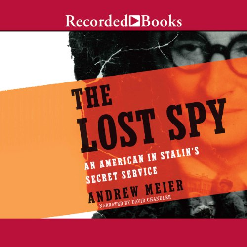The Lost Spy audiobook cover art