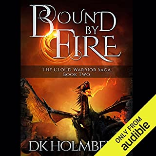 Bound by Fire audiobook cover art