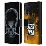 Head Case Designs Licenciado Oficialmente Star Trek Capitán Kirk Caracteres Reinicio XI Carcasa de Cuero Tipo Libro Compatible con Xiaomi Mi 9 Lite