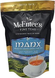 McEntee's MANX BREAKFAST Tea - 250g Bag– BLENDED BY MCENTEE'S TEA AN AWARD WINNING TEA BLENDING COMPANY