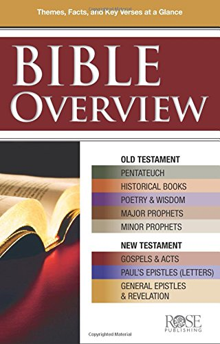 Bible Overview pamphlet: Know Themes, Facts and Key Verses at a Glance