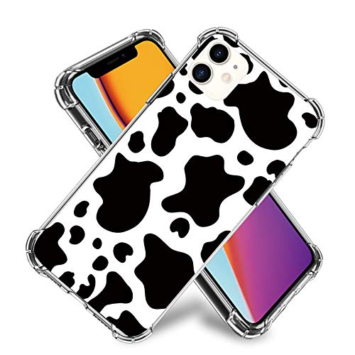 Cow Phone Case for iPhone 11,11 Pro,11 Pro Max, iPhone X, XR, iPhone 7/8,7/8 Plus, Flexible TPU Shockproof Protection Basic Case Cover