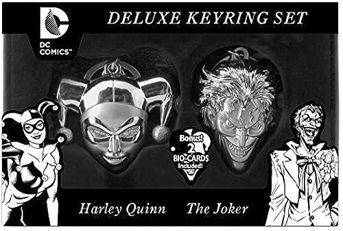 mejor oferta DC Limited Edition Harley Quinn and Joker Joker Joker Face Key Ring Set (2-Piece) by DC  100% garantía genuina de contador