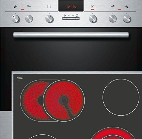 Siemens eq231ek04 Plaques de cuisson Chauffage de combinaisons encastrable/59,5 cm/charge rapide