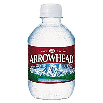 Arrowhead - Natural Spring Water 8 oz Bottle 48 Bottles/Carton 827163  DMi CT