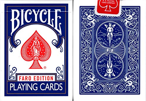 Faro Edition Bicycle Playing Cards (Blue)