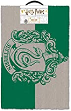 "HARRY POTTER - Door/Floor Mat (Size: 24"" x 16"") (Doormat) (Slytherin Crest)"