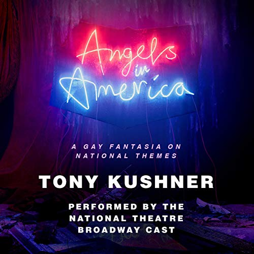 Angels in America     A Gay Fantasia on National Themes              By:                                                                                                                                 Tony Kushner                               Narrated by:                                                                                                                                 Andrew Garfield,                                                                                        Nathan Lane,                                                                                        Susan Brown,                   and others                 Length: 6 hrs and 53 mins     34 ratings     Overall 4.8