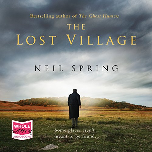 The Lost Village audiobook cover art