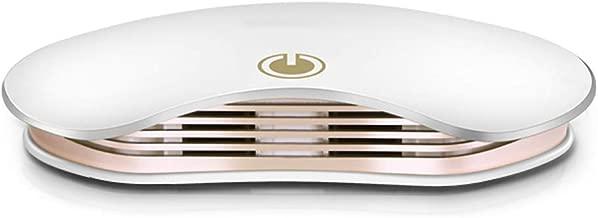 Los Difusores De Aceites Esenciales,Purificador De Aire Para El Hogar-Cubierta Del Filtro De Aire - Portátil,Funcionamiento Silencioso Para El Hogar, Oficina Y Coche - Elimina Olores, Alergias,Blanco