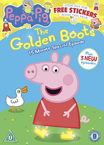 Peppa Pig: The Golden Boots [DVD] [2015] [UK Import]