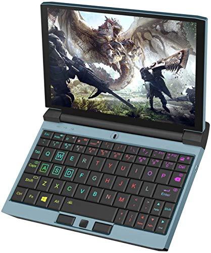One Netbook OneGx1 Mini Portátil Gaming Windows 10 2 in1 Tablet con Pantalla Táctil de 7 Pulgadas, Teclado con Luces RGB, Intel Core i5-10210Y, 620g (16GB+512GB WiFi)