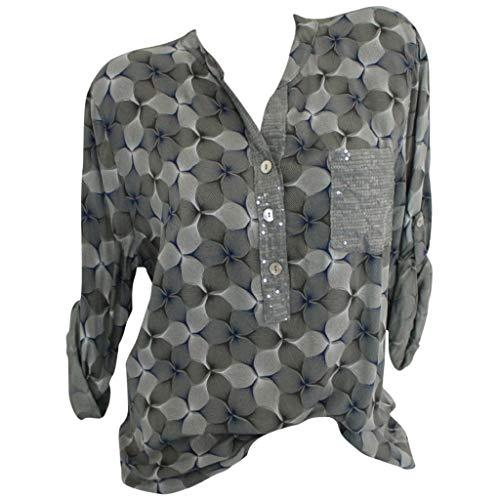 Allegorly Bluse Damen Sommer Shirt Schulterfrei Oberteile Reizvoller Übergröße Half Ärmel Federdruck V-Ausschnitt Sweatshirt Langarmshirt Tops Oberteil Hemd T-Shirts Tunika Blusenshirt