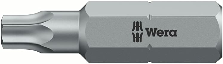 Wera 5073314001 1Z Professional Torx #20 Bit (5 Packs Of 2)
