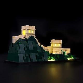 BRIKSMAX Kit de Iluminación Led para Architecture Gran Mura