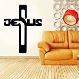zqyjhkou Man Sign Custom Kids Name Wall Sticker Vinyl Home Decor Boys Room Playroom Decals Personalized Name Murals77x98cm