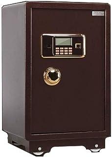 WANGJUNXIU Safe Box,Large Bed Anti-theft Safe Safe Deposit Box Office Bank Safe 70cm High Wall Safe Electronic Security Ho...
