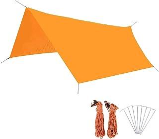 Azarxis tält presenning vattentät hängmatta regn flyga presenning 300 220 marktäckare camping solskydd skydd anti-UV basha...