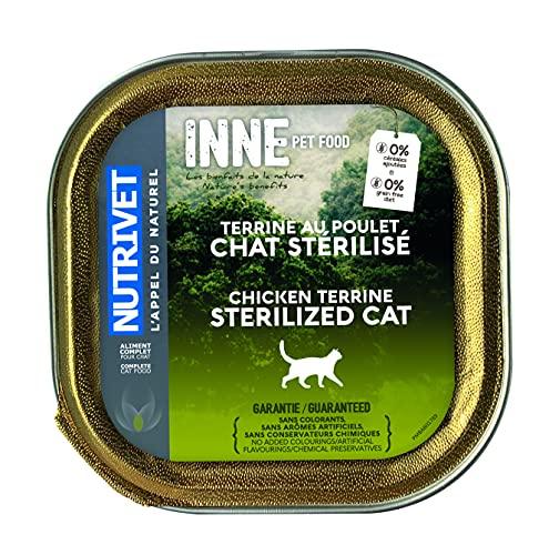 Nutrivet Inne Terrine Stérilisé BQ pour Chat 150 g