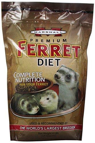 Marshall Premium Ferret Diet, 4-Pound Bag