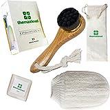 Spazzola Pulizia Viso Kit Esfoliante Spugna Corpo Sapone Naturale Skin Care Pelle Sensibile Massaggiatore Morbido Pacco Regalo