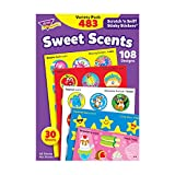 TREND ENTERPRISES, INC. Sweet Scents Variety Pack of Scratch 'n Sniff Stickers, 480 Count, Multi (T-83901)