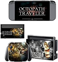 Adventure game anime Stickers Decals Skin for Nintendo Switch, Cover Protector Wrap Durable Full Set Protection Faceplate Console Joy-Con Dock by AMALA NAIDU