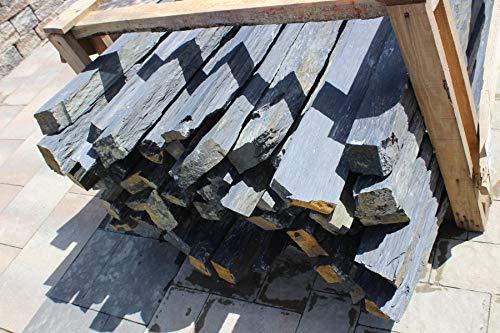 Schiefer-Monolith, Dekorative Garten Highlights, Deko Steine, Stelen in verschiedenen Größen, inkl Lieferung (1, 160cm x 8-15cm x 10cm)