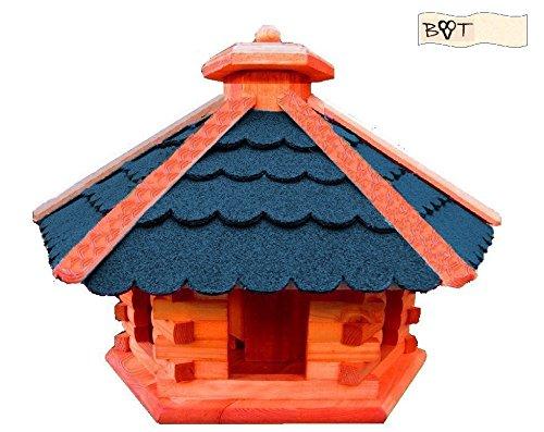 BTV Batovi Vogelhaus, Gartendeko aus Holz Vogelhaus, große Vogelvilla Vögel ohne Ständer Vogelhaus, B40blOS