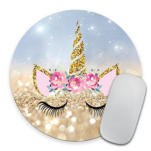 Unicorn Mousepad, Girly Mouse Pad, Personalized Mouse Pad, Desk Accessories, Desk Decorations