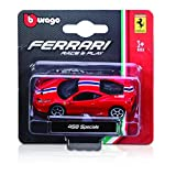 Burago- Vehículo Ferrari Evolution 1/72EME, 56600