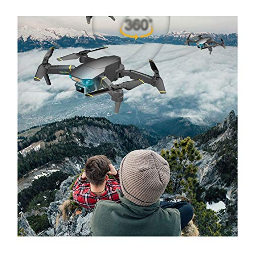 WXFXBKJ HD Drones 4k GPS Infrared Obstacle Avoidance HD WiFi 1080p FPV Dron Camera Optical Flow Positioning RC Quadcopter Drone with Camera (Color : WTEQ014 02)