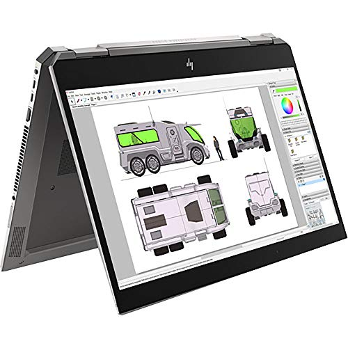 HP 15.6' ZBook Studio x360 G5 Multi-Touch 2-in-1 Mobile Workstation, Model Number: 2R706UT#ABA