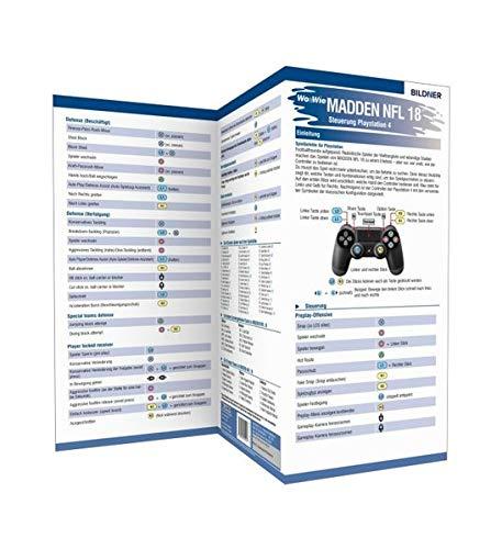 Madden NFL 18 - Die komplette Spielsteuerung groß auf einen Blick!: Für PS4
