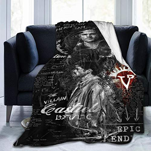 supernatural merchandise blanket - 8