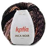 Lanas Katia Inca Noir Ovillo de Color Maquillaje Cod. 359