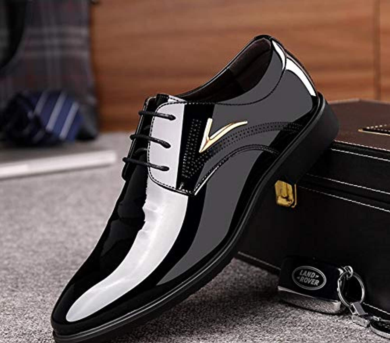 c88c6d94fa9 LOVDRAM Men'S Leather Leather Leather shoes Designer Men shoes ...