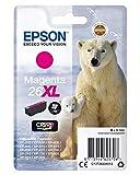 Epson C13T26334010 - Cartucho de tinta, magenta, XL válido para los modelos Expression Premium XP-510, XP-520, XP-700, XP-710, XP-810, XP-820 y otros, Ya disponible en Amazon Dash Replenishment