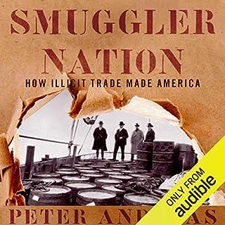 Smuggler Nation audiobook cover art