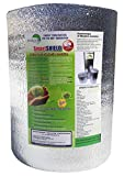 SmartSHIELD -5mm 48''X100ft Reflective Insulation Roll, Foam Core Radiant Barrier, Thermal Foil Insulation - Engineered Foil