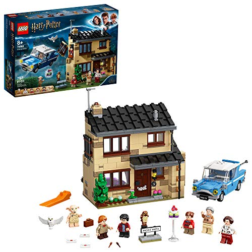 LEGO Harry Potter 4 Privet Drive 75968; Fun Children?s Building Toy for Kids Who Love Harry Potter Movies, Collectible Playsets, Role-Playing Games and Dollhouse Sets, New 2020 (797 Pieces)