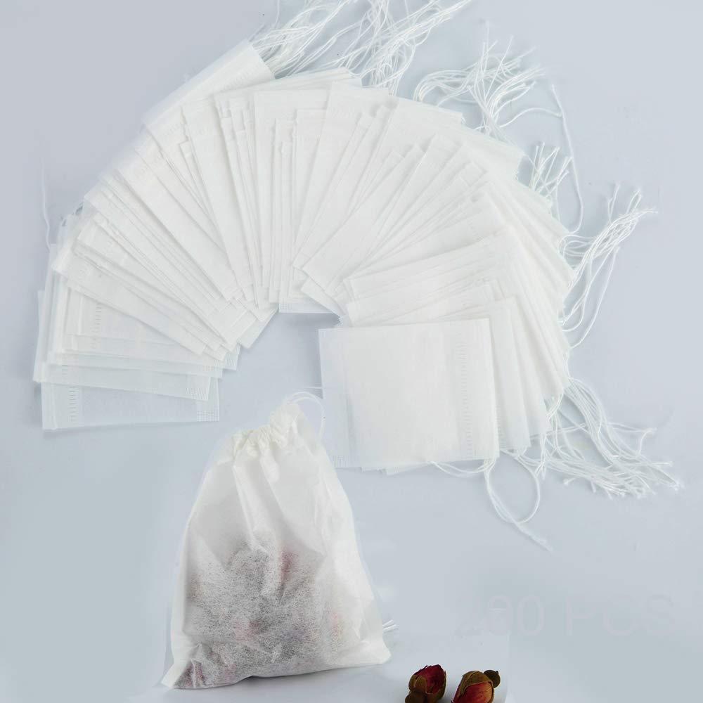 Disposable Infuser Natural Material Drawstring