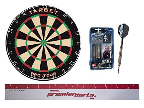TARGET Starter Set Phil - Dartboard, Darts, Abwurflinie