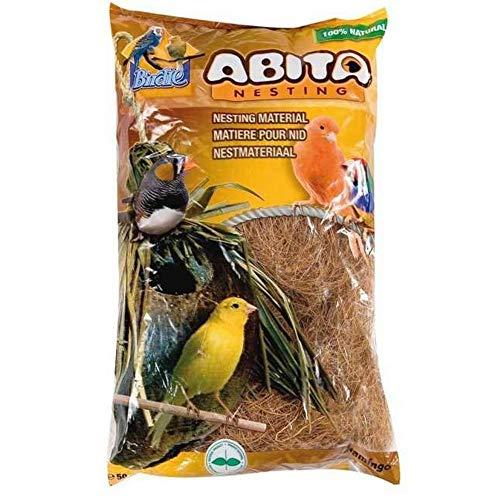 Matière pour nid, fibre de cocos 400 gr - oiseaux