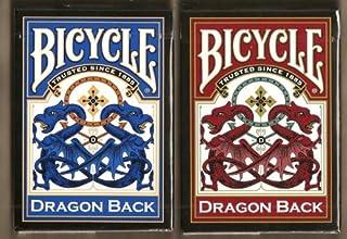 BICYCLE(バイスクル) DRAGON BACK(ドラゴンバック) トランプ 赤/青 2デックシュリンクパック