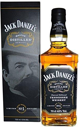 Rarität: Jack Daniel's Master Distiller No 1 Limitierte Edition mit Geschenkkarton 0,7l - Tennessee Whiskey